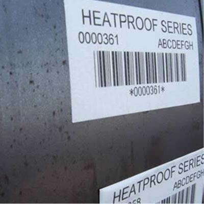 Steel Processing High Temp Labels