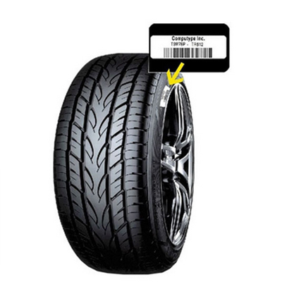 Tyre Rubber Vulcanized Labels