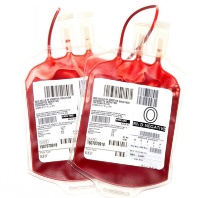 Blood Bag Tracking Labels