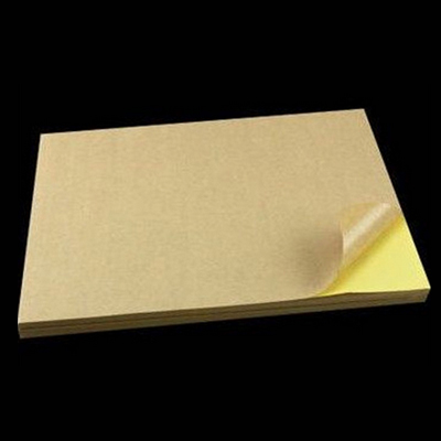 Kraft Paper A4 Label Sticker
